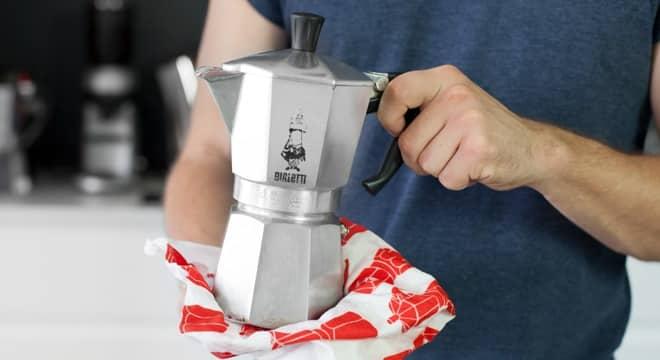 clean a stovetop espresso maker